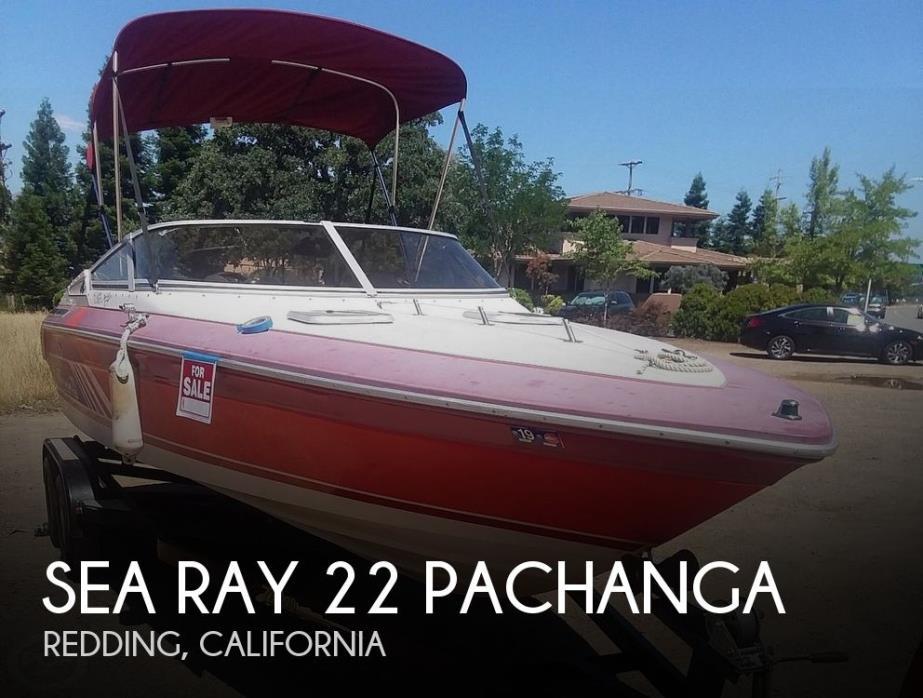 1988 Sea Ray 22 Pachanga