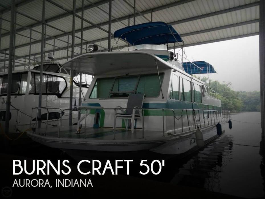 1973 Burns Craft 50 V-Drive