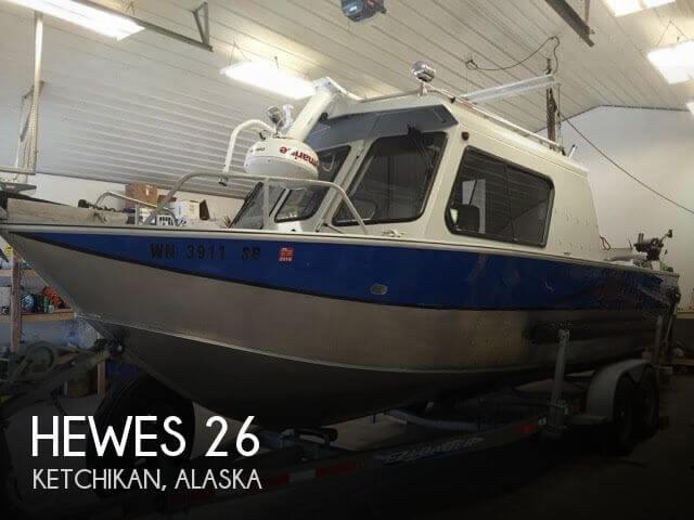 2010 Hewes Alaskan 260