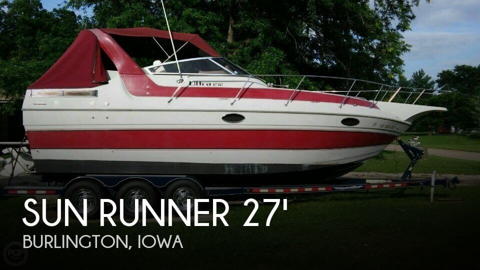 1988 Sun Runner 272 Ultra Cruiser