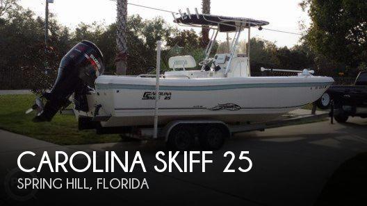 2010 Carolina Skiff 25 Elite SS