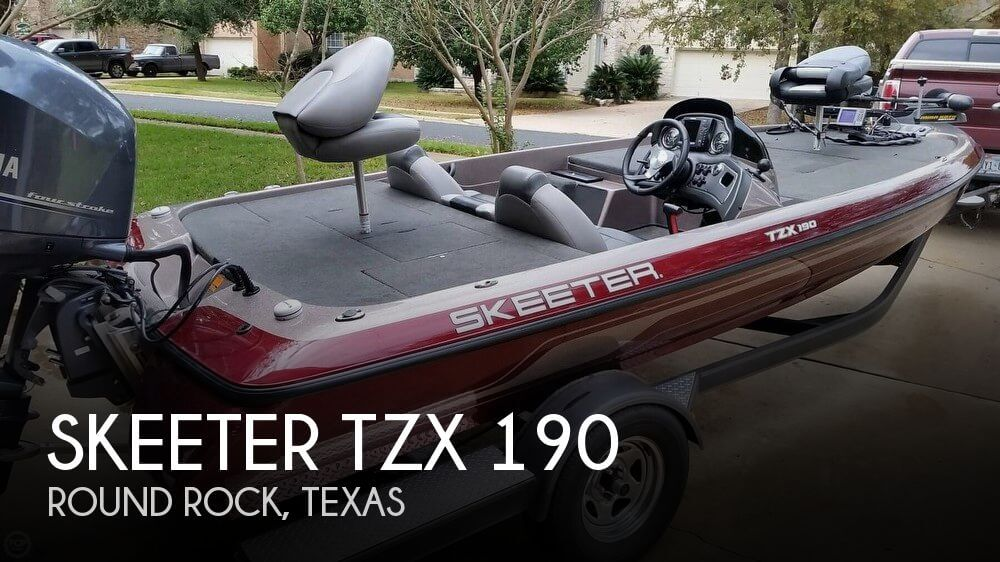 2013 Skeeter TZX 190