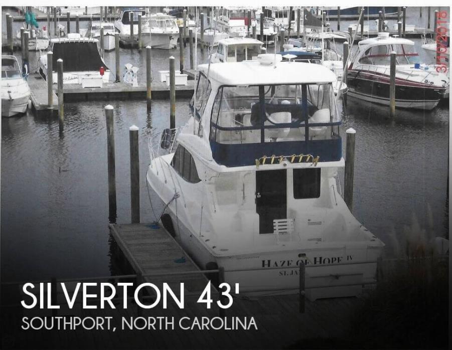 2005 Silverton 38 Convertible with Sportpak