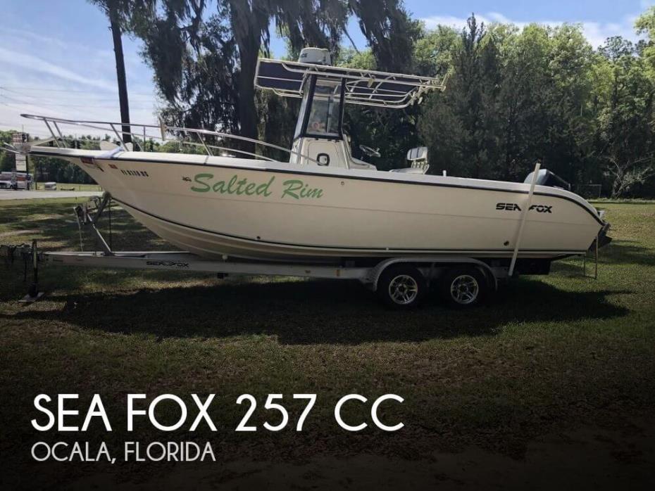 2002 Sea Fox 257 CC