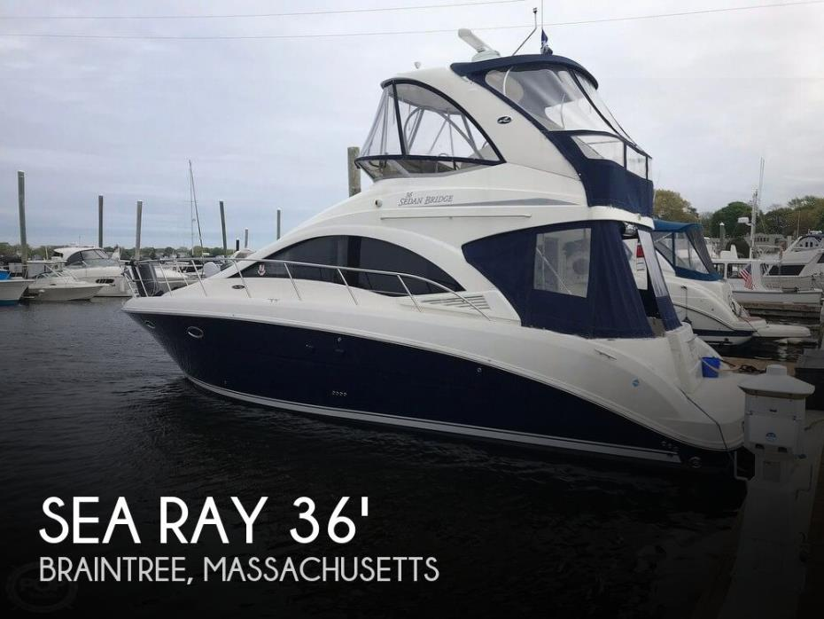 2007 Sea Ray 36 Sedan Bridge