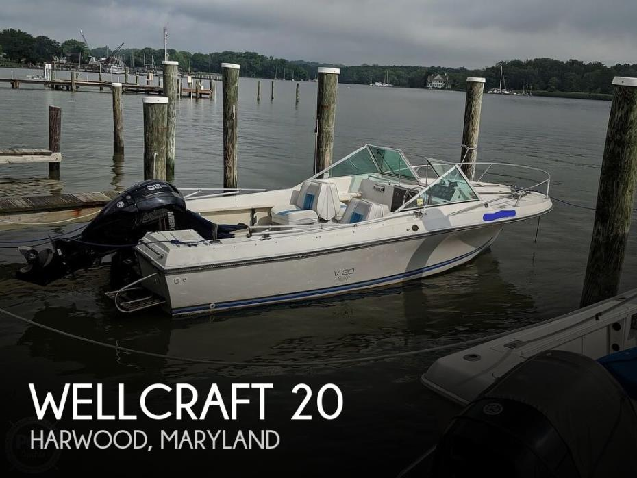 1988 Wellcraft V20 STEP-LIFT