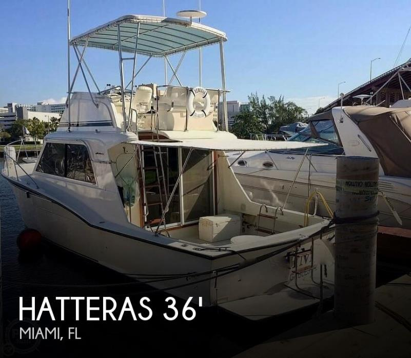 1972 Hatteras 36 Convertible