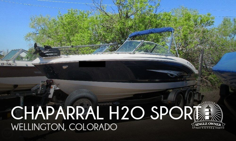 2015 Chaparral 21 Deluxe Ski and Fish H2O