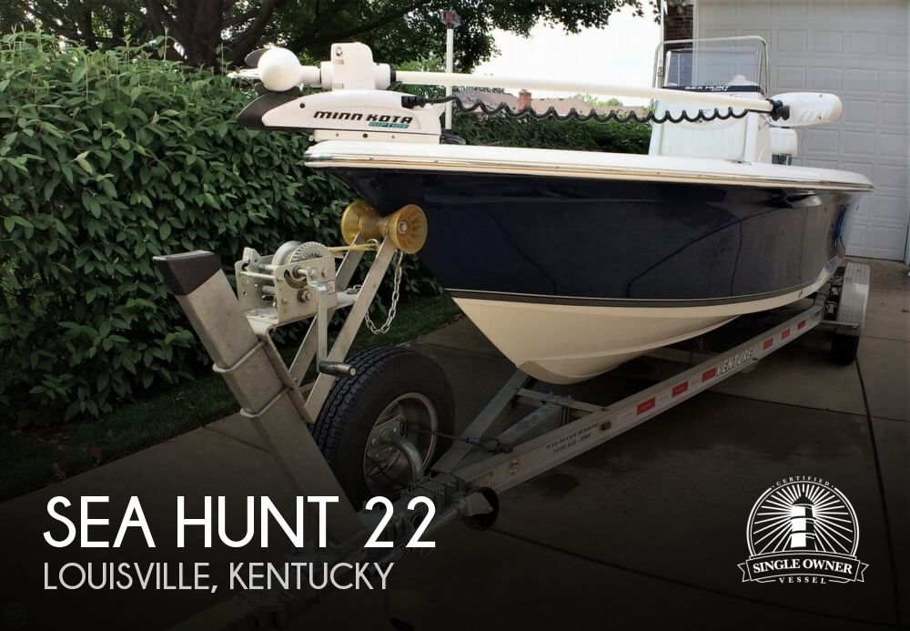 2012 Sea Hunt 22 BX Pro