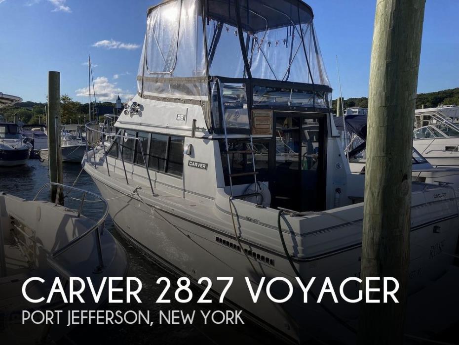 1988 Carver 2827 Voyager