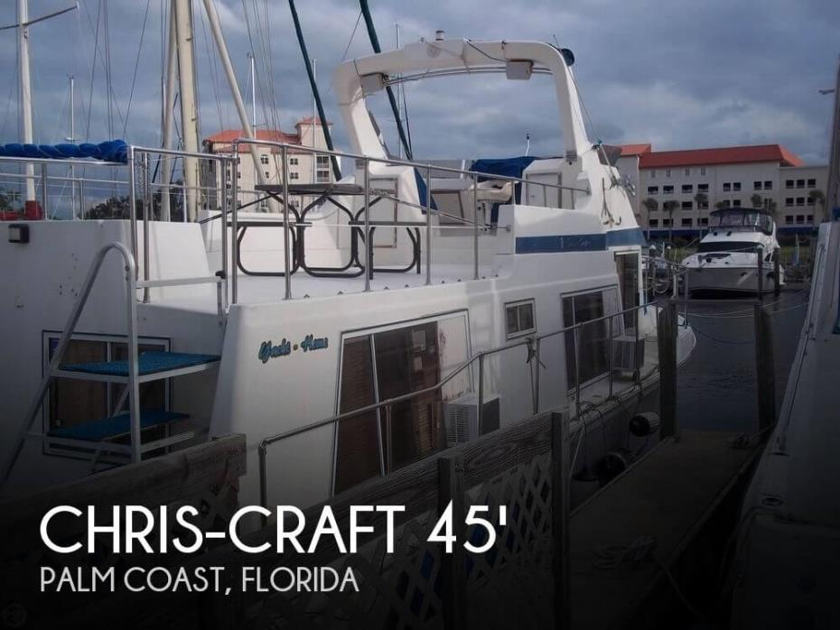 1986 Chris-Craft 450 Yacht Home