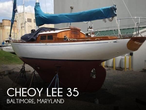 1964 Cheoy Lee 35