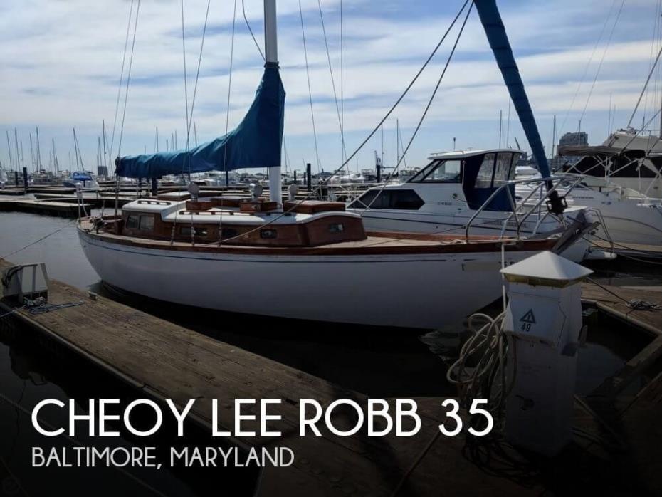 1964 Cheoy Lee Robb 35