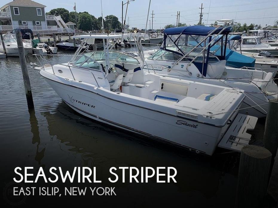 2000 Seaswirl 2600 Striper