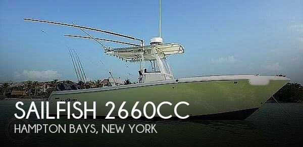 2007 Sailfish 2660CC