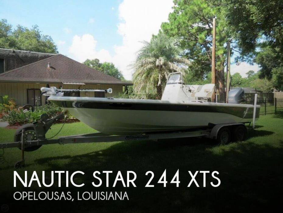 2016 Nautic Star 244 XTS