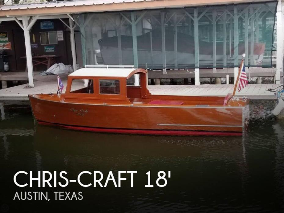 1935 Chris-Craft 18 Utility