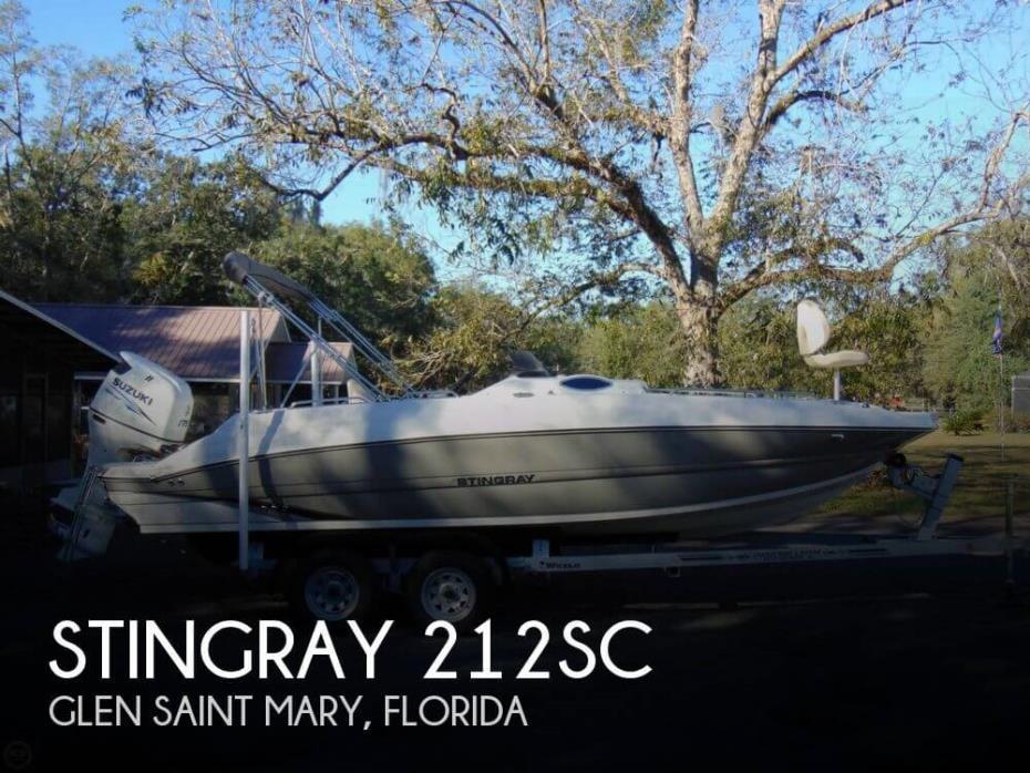 2016 Stingray 212SC