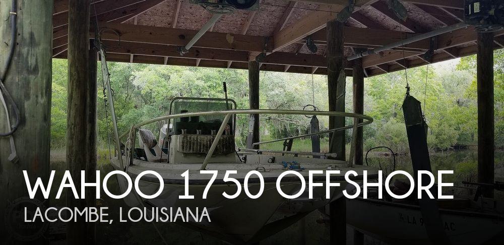 1995 Wahoo 1750 offshore