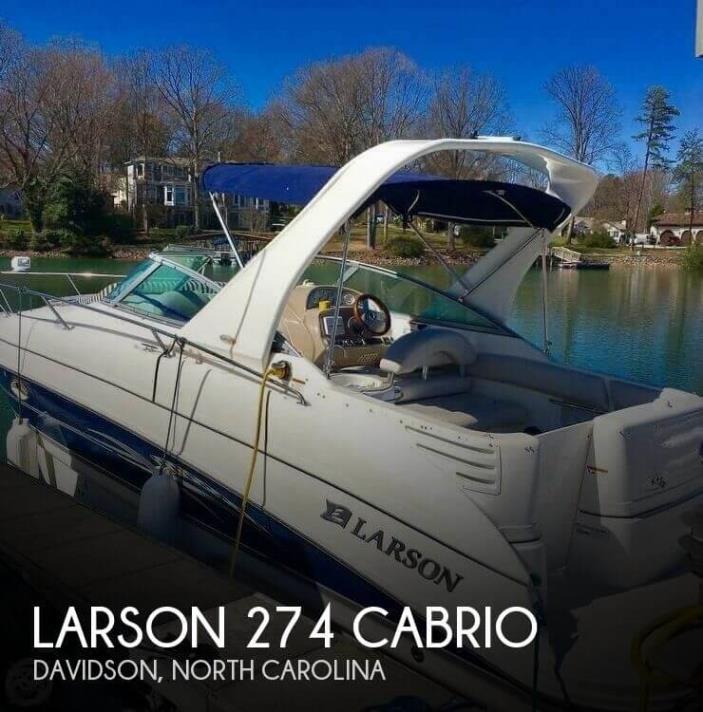 2007 Larson 274 Cabrio