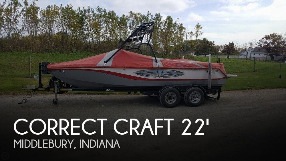 2005 Correct Craft 210 SPORT NAUTIQUE
