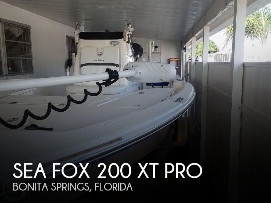 2011 Sea Fox 200 XT PRO
