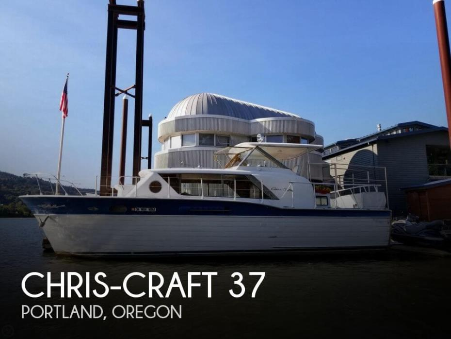1962 Chris-Craft 37 Constellation