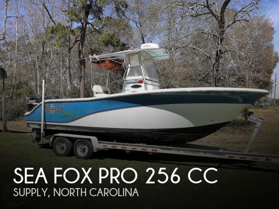 2007 Sea Fox Pro 256 CC
