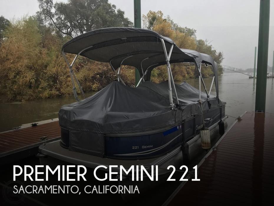 2014 Premier Pontoons Gemini 221
