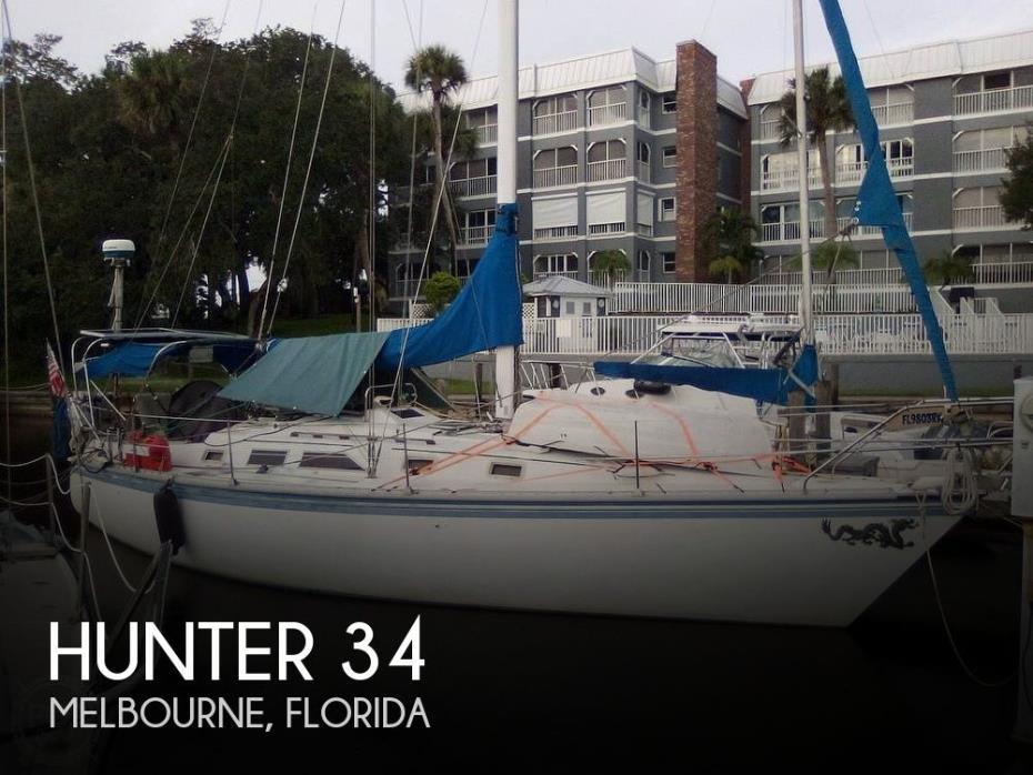 1983 Hunter 34