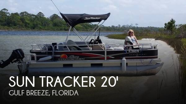 2012 Sun Tracker 18 DLX Bass Buggy