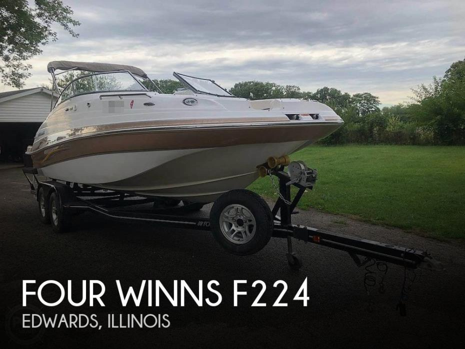 2008 Four Winns F224