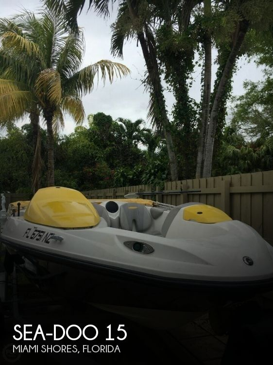 2009 Sea-Doo Speedster 15