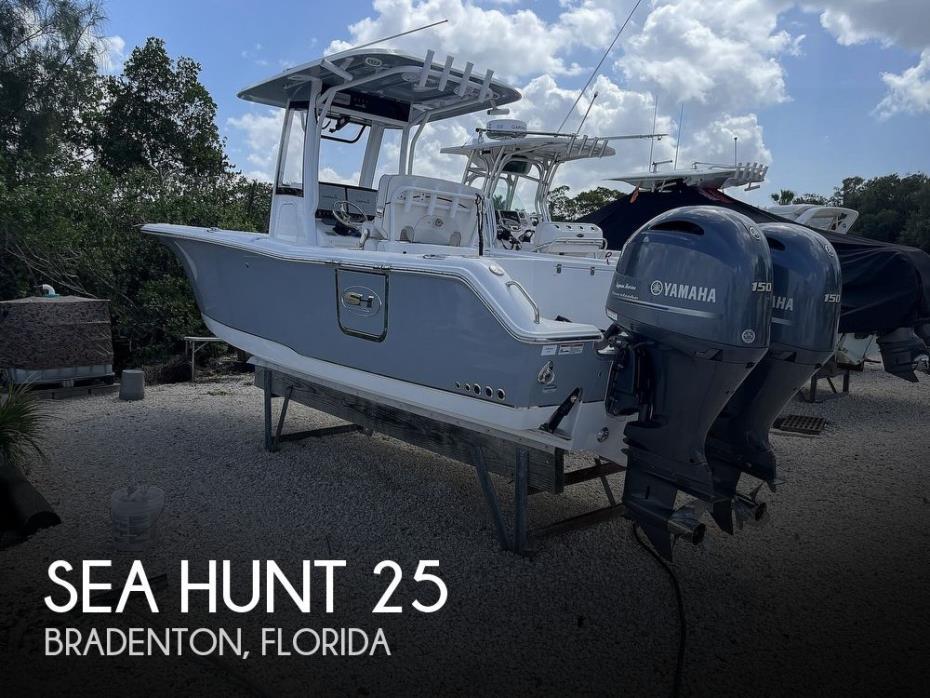 2019 Sea Hunt 25 Gamefish