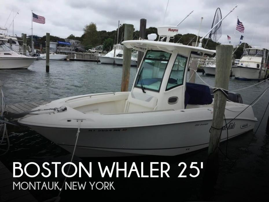 2014 Boston Whaler 250 Outrage