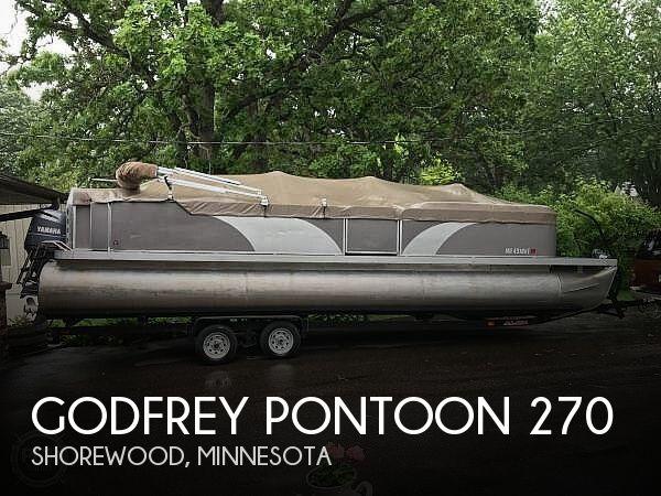 2000 Godfrey Pontoon 270FE