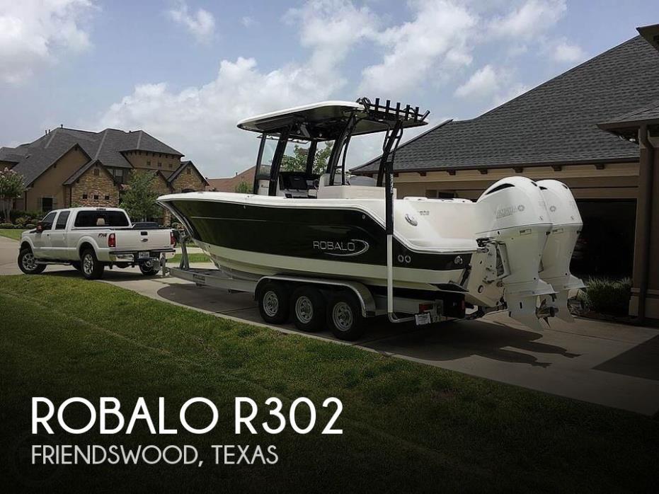 2017 Robalo R302