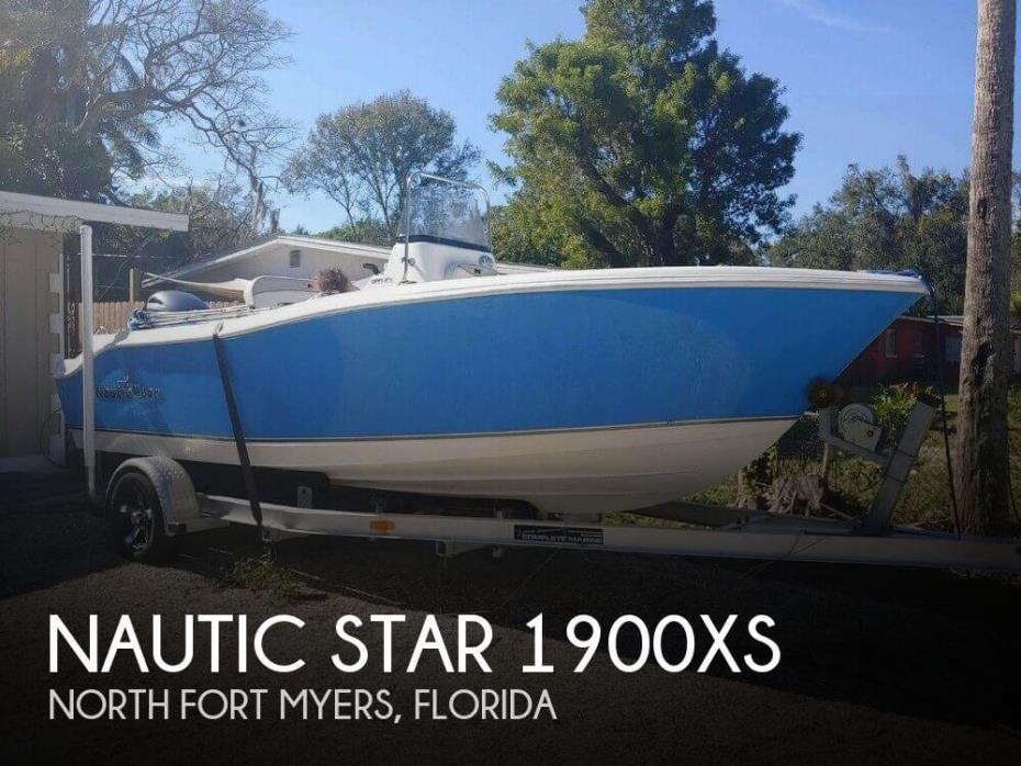 2015 Nautic Star 1900 XS