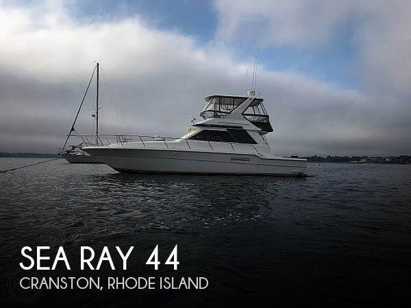 1991 Sea Ray 440 Sedan Bridge