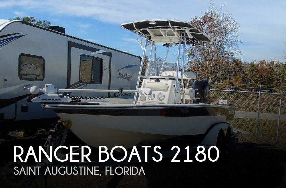 2001 Ranger Boats 2180