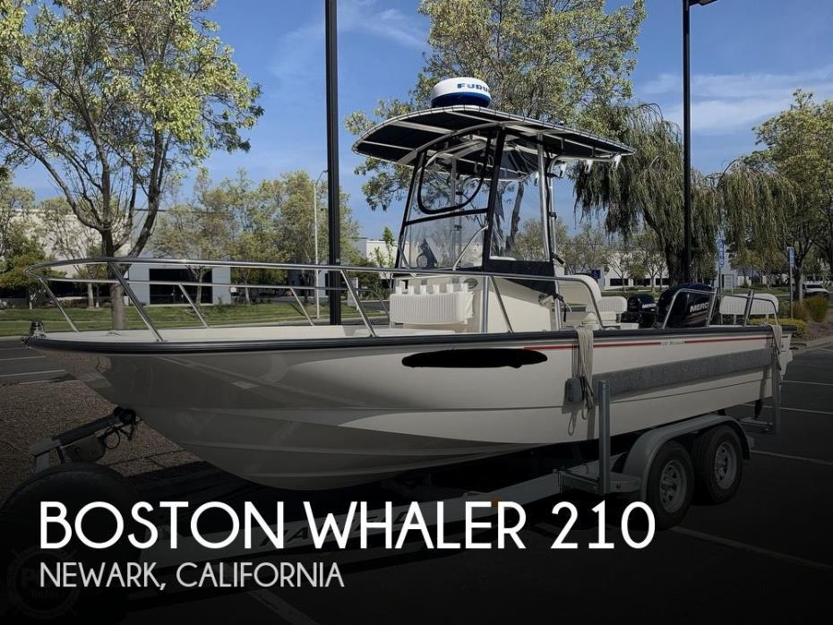 2014 Boston Whaler 210 Montauk