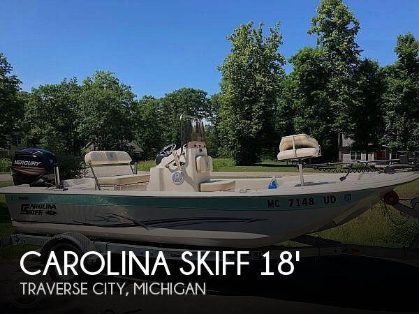 2017 Carolina Skiff JVX 18