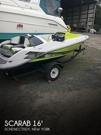 2016 Scarab 165 HO Impulse