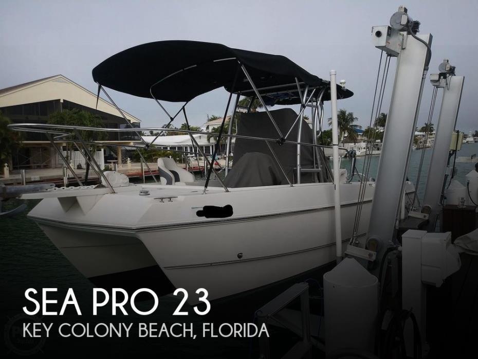 2002 Sea Pro Sportcraft SCC 23