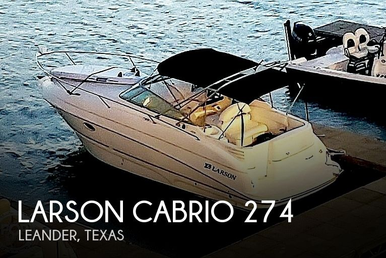 2002 Larson Cabrio 274