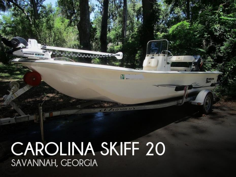 2013 Carolina Skiff JVX20
