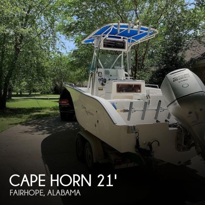 2004 Cape Horn 21 Center Console