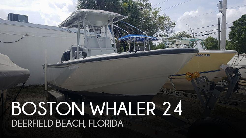 2018 Boston Whaler Justice 24