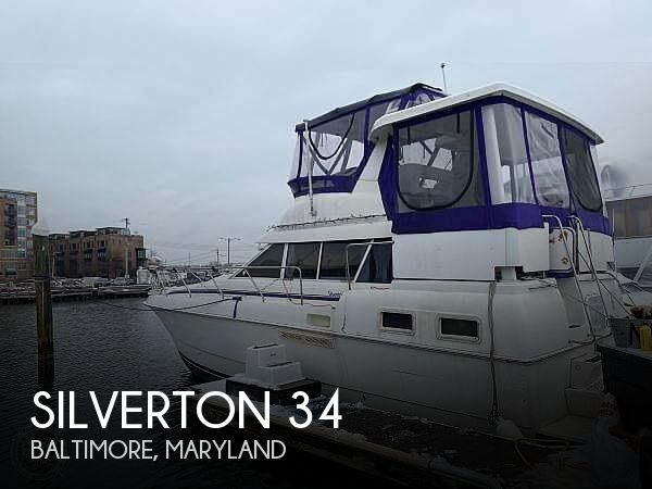 1996 Silverton 34