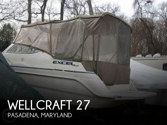 1997 Wellcraft Excel 26 SE